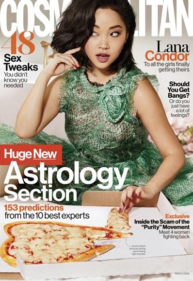 Cosmopolitan Cover - 3/1/2019