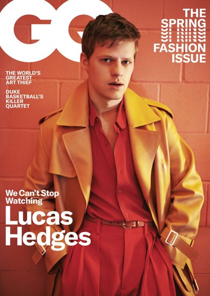 Gentlemen's Quarterly - GQ Cover - 3/1/2019
