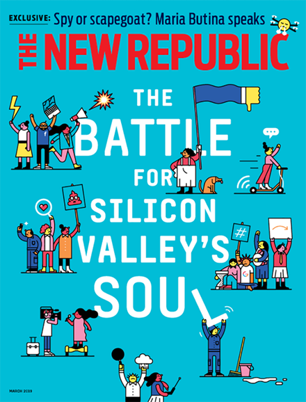 The New Republic Cover - 3/1/2019