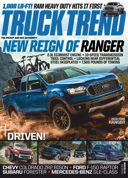 Truck Trend Cover - 5/1/2019