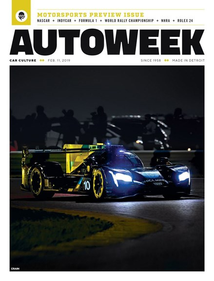 Autoweek Cover - 2/11/2019