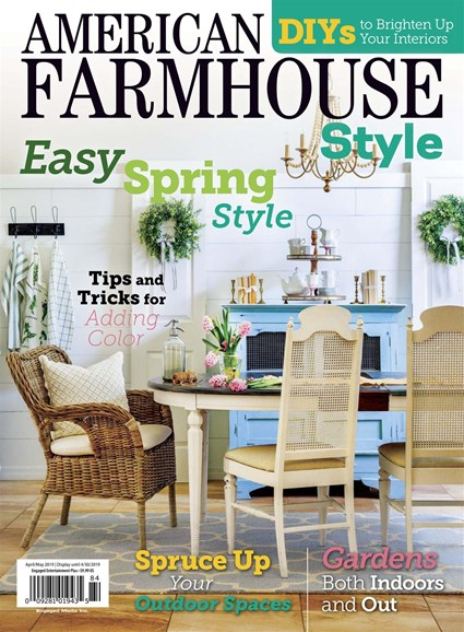 American Farmhouse Style Cover - 4/1/2019
