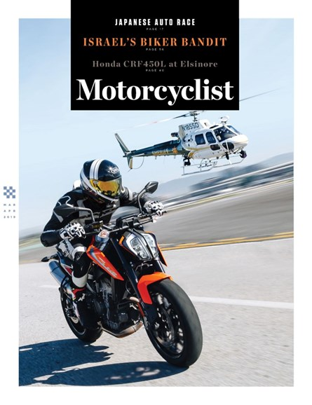 Motorcyclist Cover - 3/1/2019