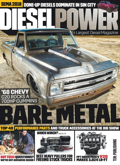Diesel Power Cover - 4/1/2019