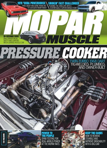 Mopar Muscle Cover - 6/1/2019