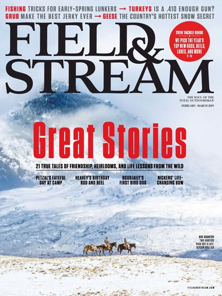 Field & Stream Cover - 2/1/2019