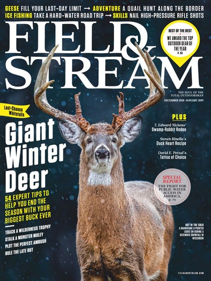 Field & Stream Cover - 12/1/2018
