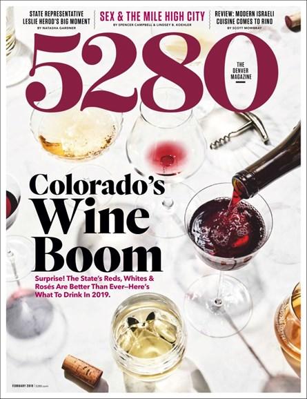 5280 Magazine Cover - 2/1/2019