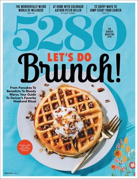 5280 Magazine Cover - 3/1/2019
