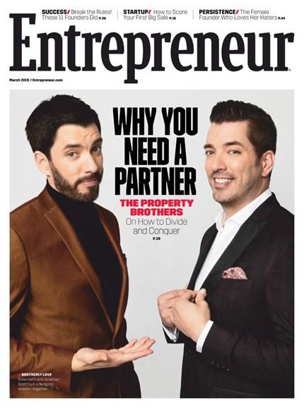 Entrepreneur Cover - 3/1/2019