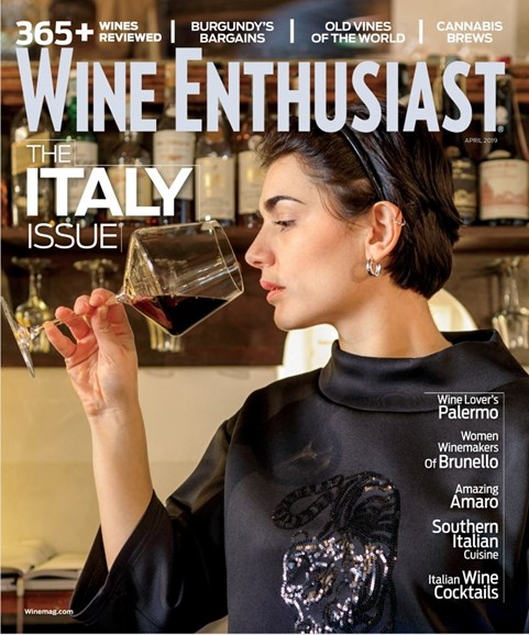 Wine Enthusiast Cover - 4/1/2019
