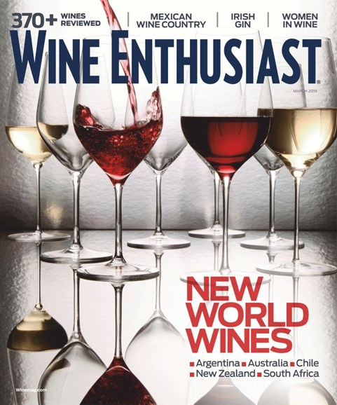 Wine Enthusiast Cover - 3/1/2019