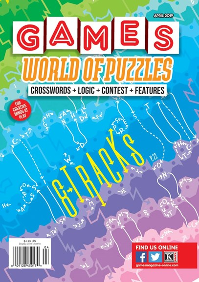 Games World of Puzzles Cover - 4/1/2019