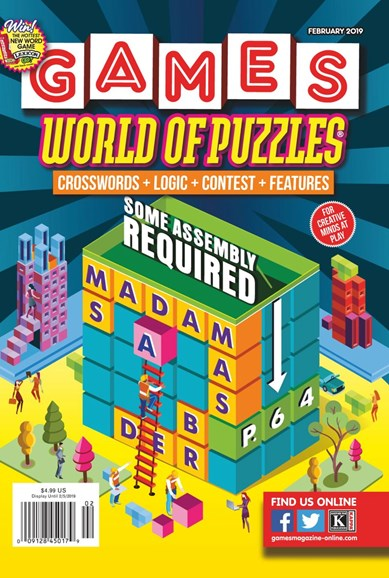 Games World of Puzzles Cover - 2/1/2019