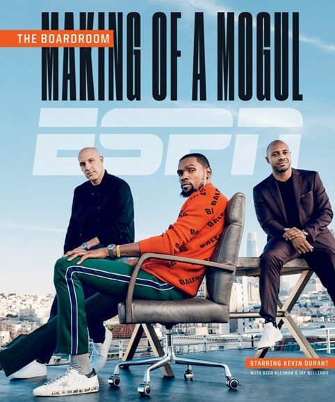 ESPN The Magazine Cover - 3/1/2019