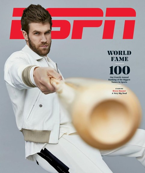 ESPN The Magazine Cover - 4/1/2019