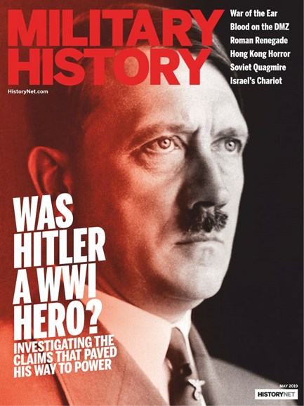 Military History Cover - 5/1/2019