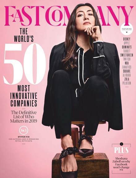 Fast Company Cover - 3/1/2019