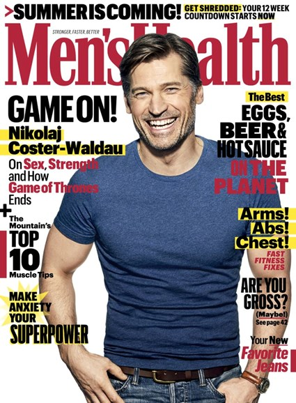 Men's Health Cover - 4/1/2019