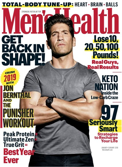 Men's Health Cover - 1/1/2019
