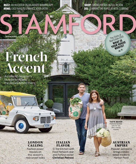 Stamford Magazine Cover - 3/1/2019