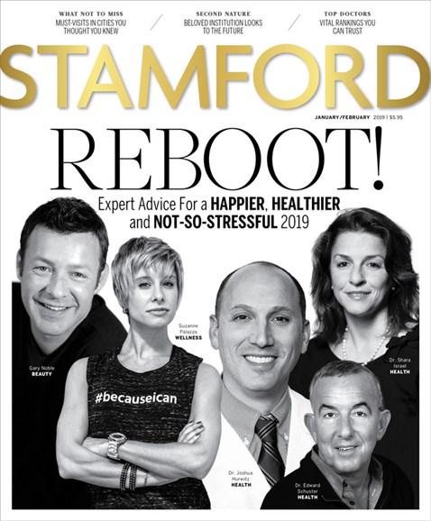 Stamford Magazine Cover - 1/1/2019