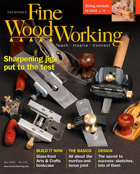 Fine Woodworking Cover - 4/1/2019