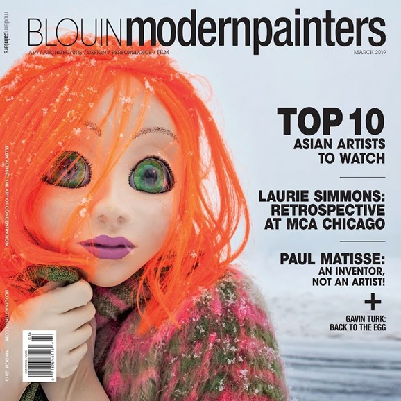Blouin Modern Painters Cover - 3/1/2019