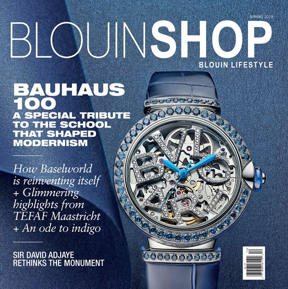 Blouin Lifestyle Cover - 3/1/2019