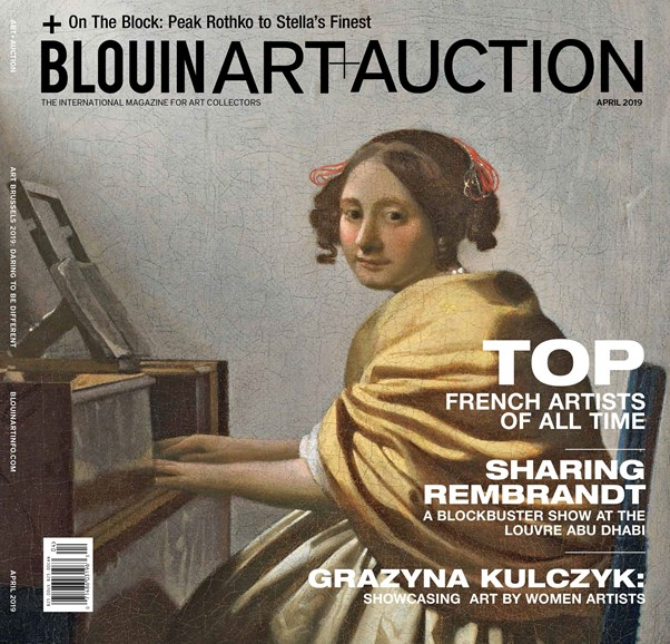 Blouin Art & Auction Cover - 4/1/2019