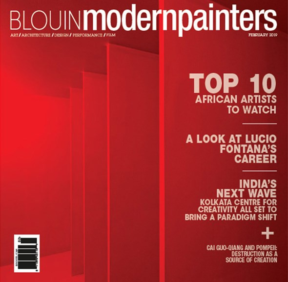 Blouin Modern Painters Cover - 2/1/2019