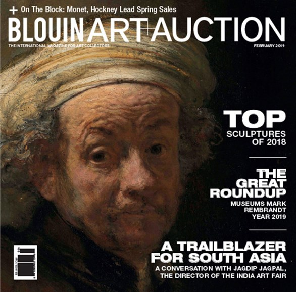 Blouin Art & Auction Cover - 2/1/2019