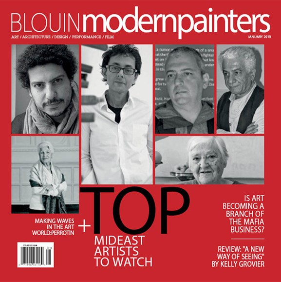 Blouin Modern Painters Cover - 1/1/2019