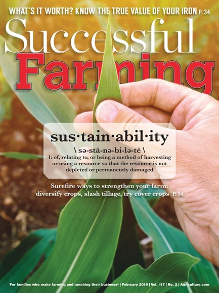 Successful Farming Cover - 2/1/2019