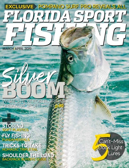 Florida Sport Fishing Cover - 3/1/2019