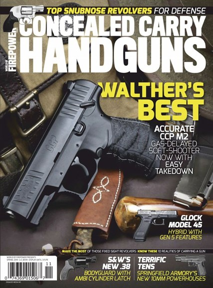 Concealed Carry Handguns Cover - 3/1/2019