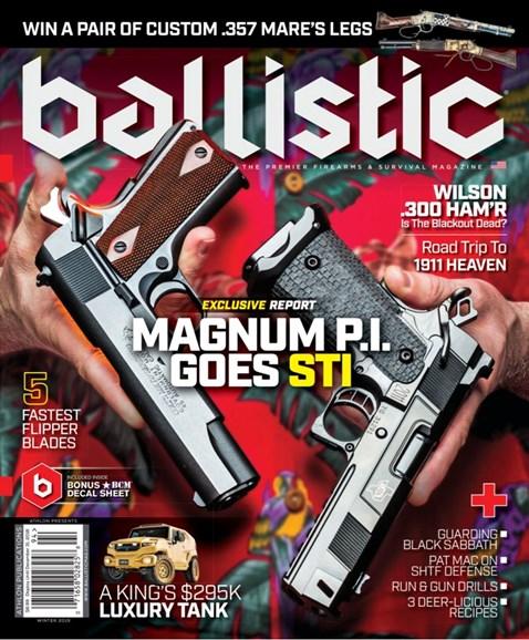 Ballistic Cover - 12/1/2018