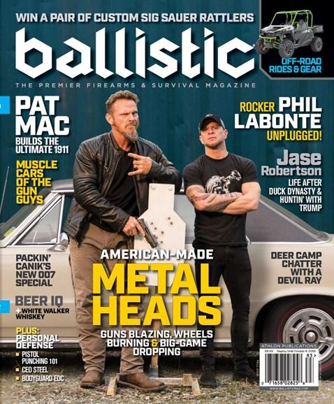 Ballistic Cover - 10/1/2018