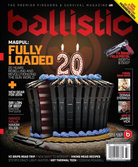 Ballistic Cover - 3/1/2019