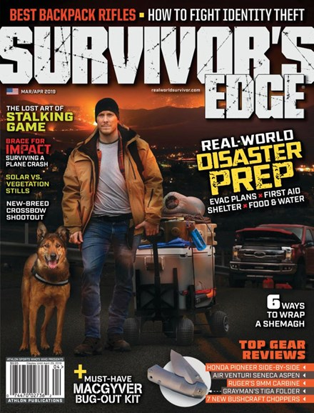 Survivor's Edge Cover - 3/1/2019
