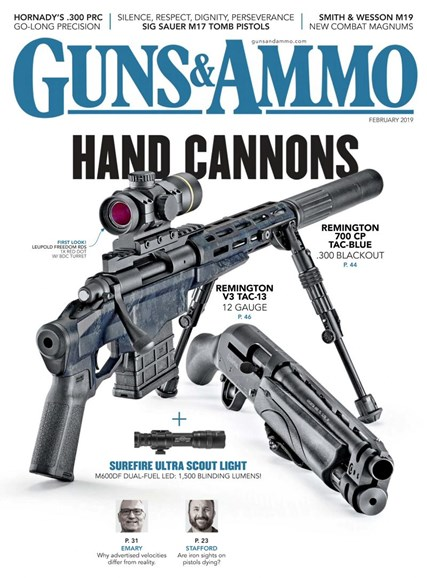 Guns & Ammo Cover - 2/1/2019