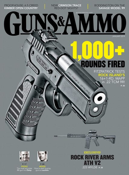 Guns & Ammo Cover - 1/1/2019