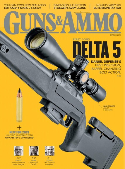 Guns & Ammo Cover - 3/1/2019