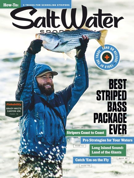 Salt Water Sportsman Cover - 4/1/2019