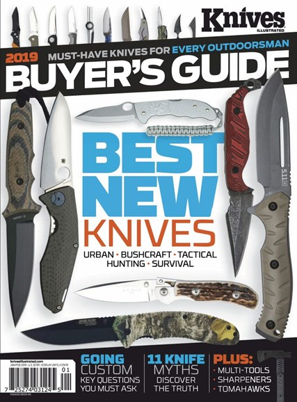 Knives Illustrated Cover - 1/1/2019