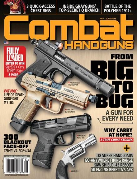 Combat Handguns Cover - 5/1/2019