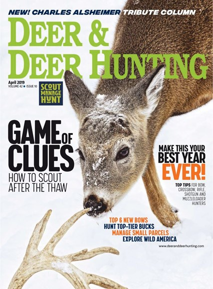 Deer & Deer Hunting Cover - 4/1/2019