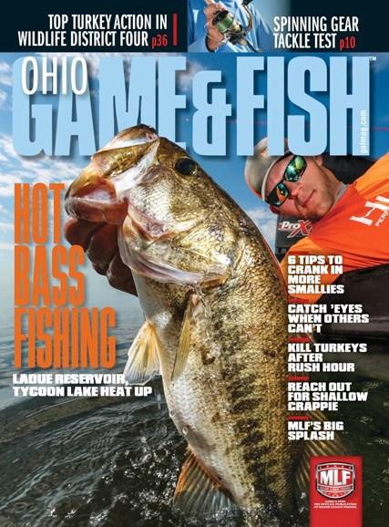 Ohio Game & Fish Cover - 4/1/2019