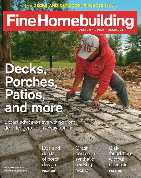 Fine Homebuilding Cover - 5/1/2019