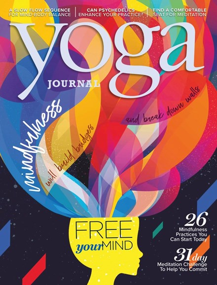 Yoga Journal Cover - 3/1/2019